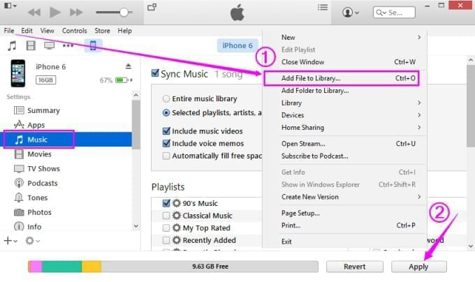 How to Transfer Music from Computer to iPhone 6