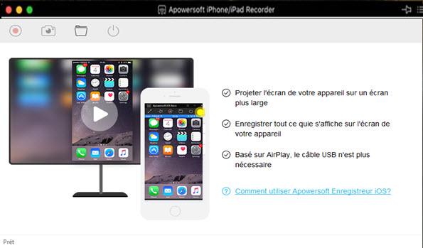 comment voir ecran iphone sur mac