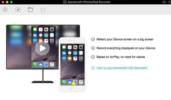 display your ipad/iphone on your mac screen