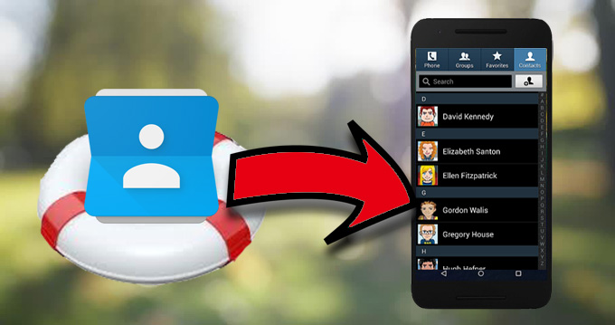 android kontakte wiederherstellen