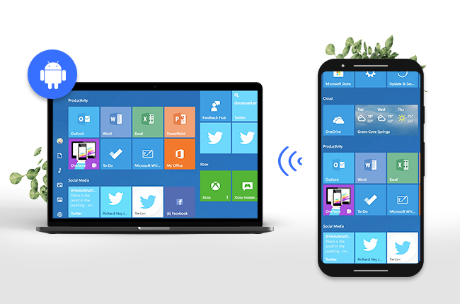 control android phone from pc via wifi free