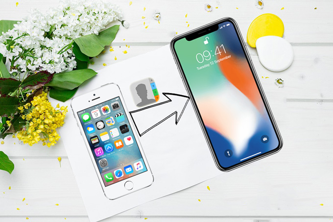 How to Transfer Contacts from iPhone to iPhone X