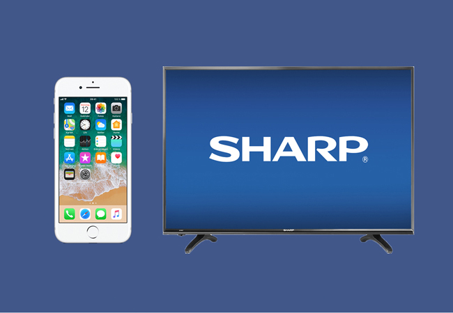 How to Connect iPhone to Sharp Smart TV?