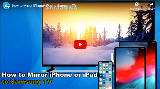 To Mirror Iphone Ipad Samsung Tv, How Do I Mirror My Iphone 11 To Samsung Tv