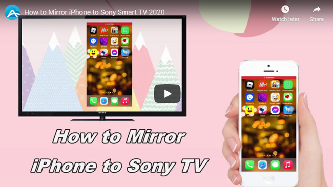 How To Mirror Iphone Sony Tv, How To Mirror Iphone 11 Sony Bravia Tv
